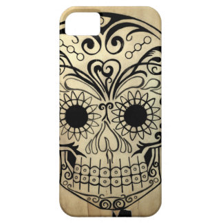 Original Drawn By Artist Sugar Skull Case For The iPhone 5