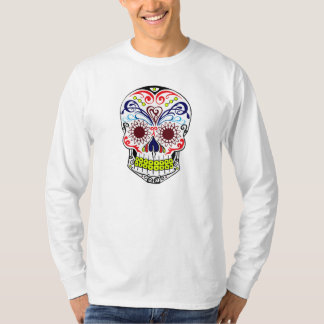 Original Drawn By Artist Sugar Skull T-Shirt