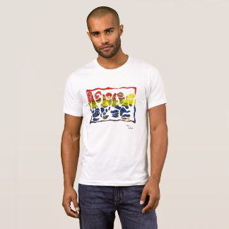 """Original """"Faces"""" Graphic by Kevin LaRiviere T-Shirt"""