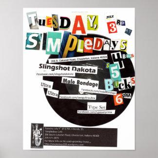 Original Flyer For July 3 2012 Show Poster