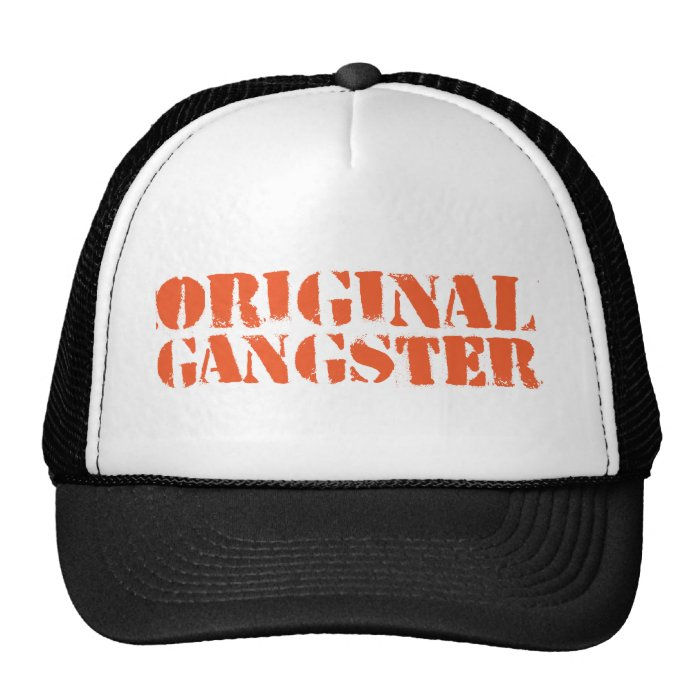 Original Gangster Cap