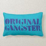 Original Gangster Throw Pillows