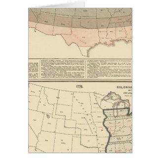 Original grants of 1776 settled area card