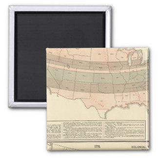 Original grants of 1776 settled area magnet