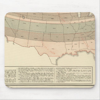 Original grants of 1776 settled area mouse mat