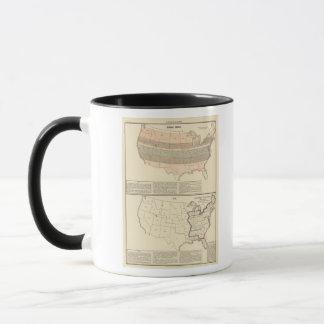 Original grants of 1776 settled area mug