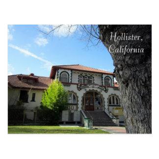 Original Hazel Hawkins Hospital, Hollister, CA Postcard