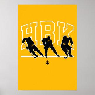 Original HBK (Gold) Poster