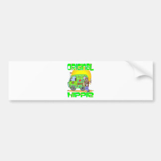 Original Hippie Car Bumper Sticker