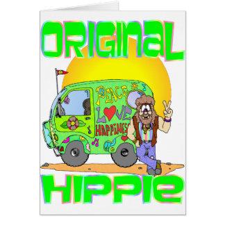 Original Hippie Greeting Card
