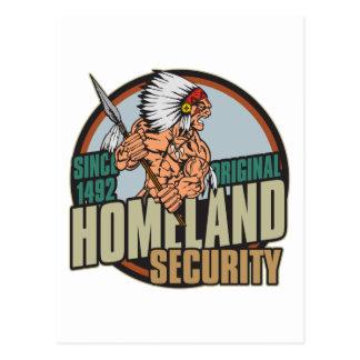 Original Homeland Security Postcard