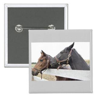 Original Horse Whisperer 15 Cm Square Badge