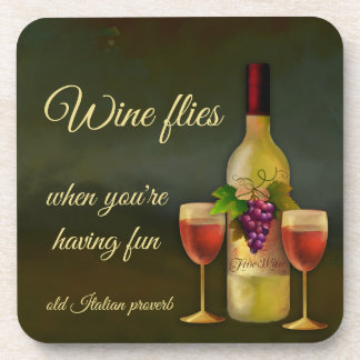 Original Italian Art Wine Coasters