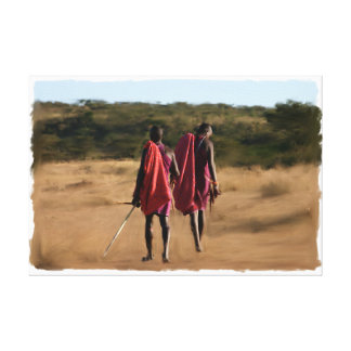 Original Kenya Warriors Canvas Print