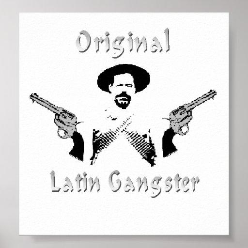 Original Latin Gangster Poster