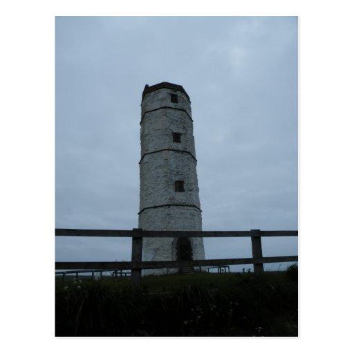 Original Lighthouse at Flamborough Postcards