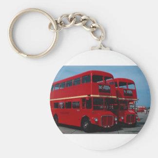 """Original London """"""""Routemaster"""""""" bus of 1954 Key Ring"""