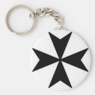 Original Maltese Cross Key Ring
