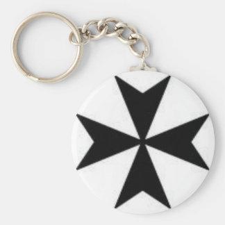 Original Maltese Cross Keychains