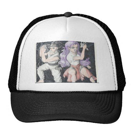 Original Manga Characters Mesh Hats