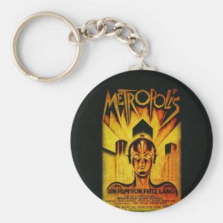 Original METROPOLIS RESTORED Adaptation Basic Round Button Key Ring