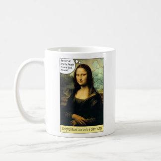 'Original' Mona Lisa Cup Basic White Mug