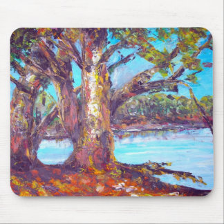 original oil painting mouse pad