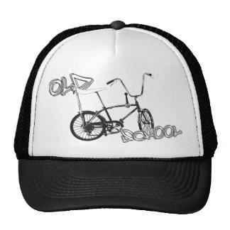 Original old School bike and graffiti Cap