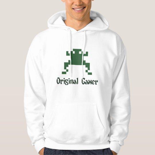 Original old school gamer hoodie
