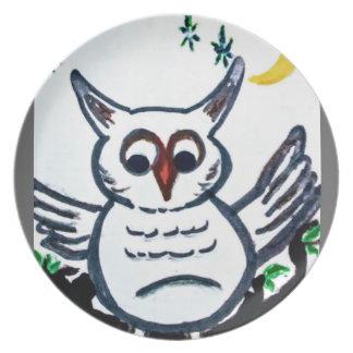 original owl image plate