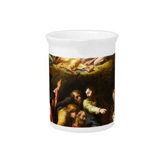 "Original paint ""the Transfiguration"" Raffaello Pitcher"
