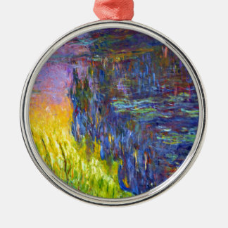 "Original paint ""The Water Lilies"" by Claude Monet Christmas Ornament"
