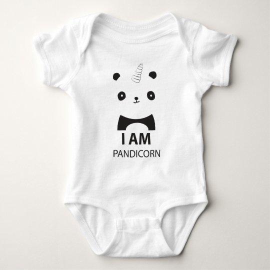 Original Pandicorn Baby Bodysuit
