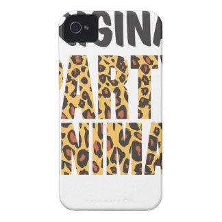 ORIGINAL PARTY ANIMAL iPhone 4 Case-Mate CASE