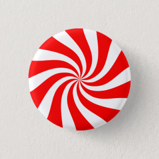 [Original] Peppermint Candy 3 Cm Round Badge