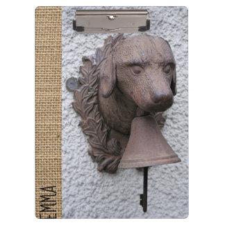 Original personalized Clipboard Dog Year 2018