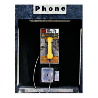 Original phone booth postcard