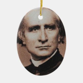 Original photo of Liszt, virtuoso pianist Christmas Ornament