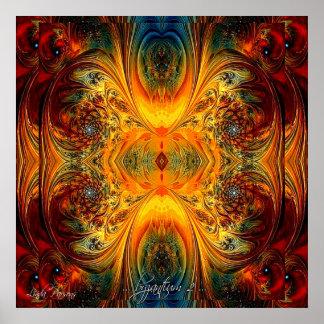 Original Poster Art by Linda Parsons - Byzantium 2
