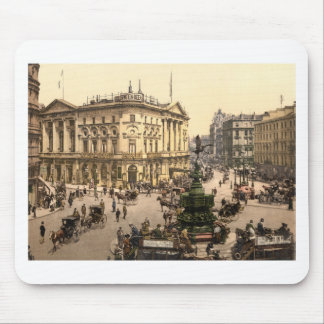 Original poster of Piccadilly circus in 1890's Mouse Mat