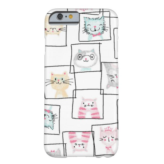 Original quirky hand drawn cat design barely there
