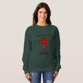 Original Red Cross (ladies sweatshirt) Sweatshirt