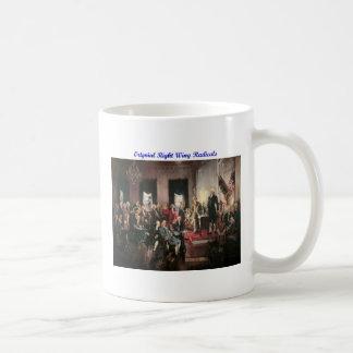 Original Right Wing Radicals Basic White Mug
