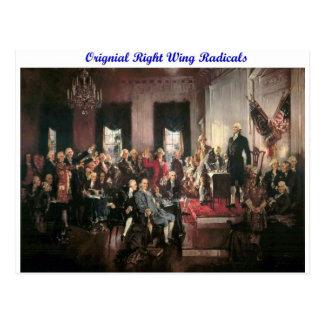 Original Right Wing Radicals Postcard