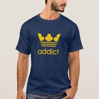 original saab addict parody in gold T-Shirt