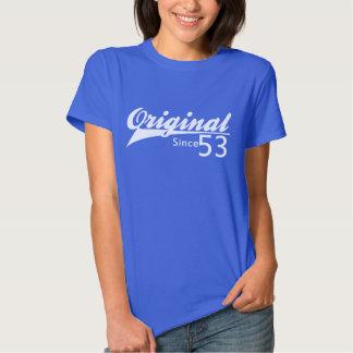Original Since 1953 Baseball Inspired Birthday TEE