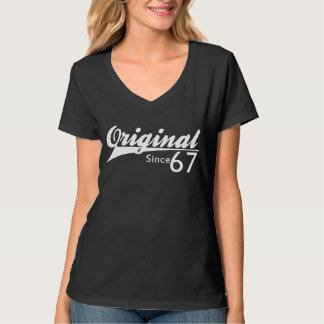 Original Since 1967 Baseball Inspired Birthday TEE