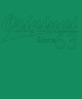 Original Since 63 Baseball Inspired Birthday TEE