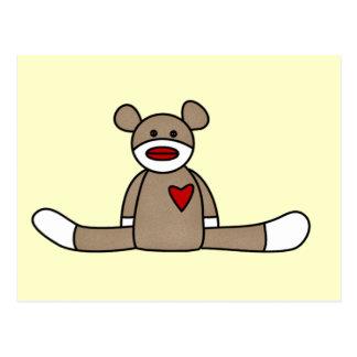 Original Sock Monkey Tshirts and Gifts Postcard