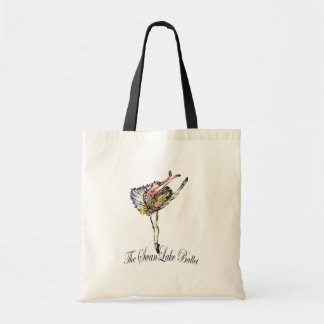 Original Swan Lake Ballet by Latidaballet! Budget Tote Bag
